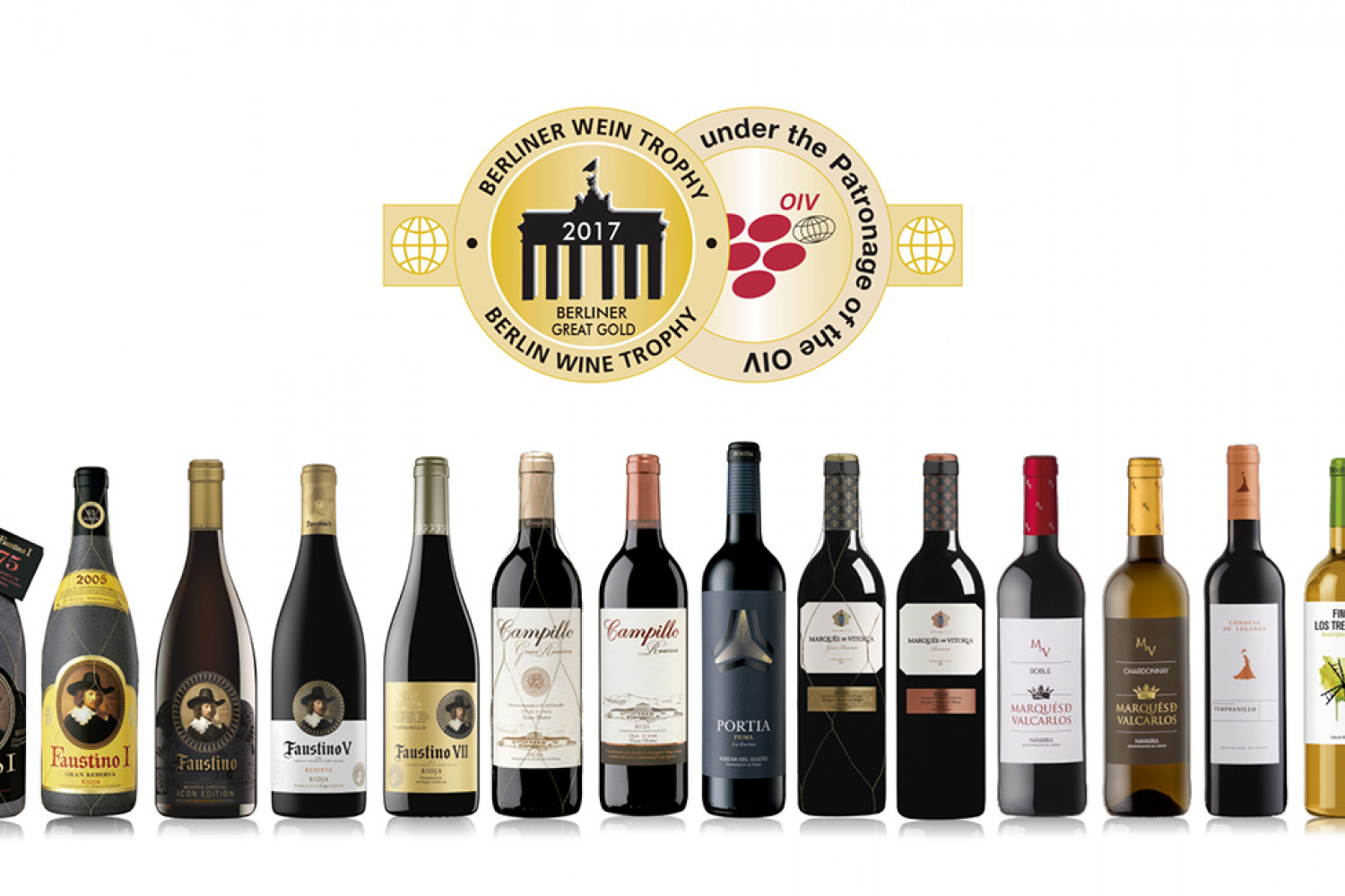 Berliner Wein Trophy 2017 - Medallas Grupo Faustino